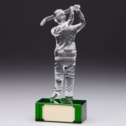 ACCLAIM Golfer Trophy - 170mm