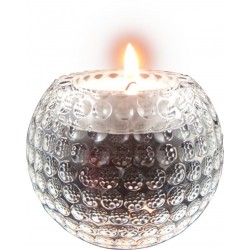 Crystal Golf Ball Tealight